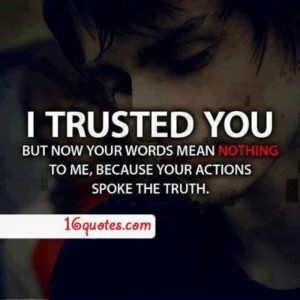 Broken Trust Quotes Tumblr Broken trust