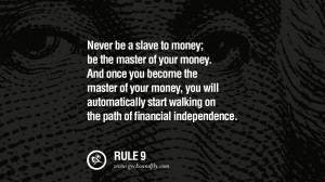 ... automatically start walking on the path of financial independence