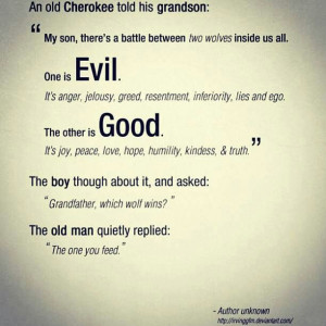 great #true #beautiful #quote about the #battle between #evil and # ...