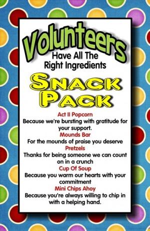 Volunteer Appreciation Clip Art
