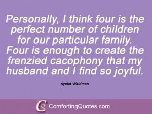 Ayelet Waldman Sayings