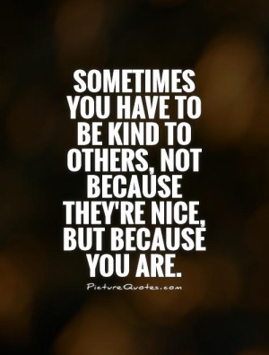 verses about being kind
