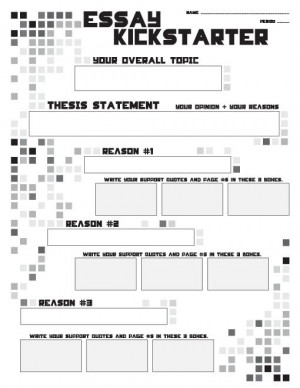 ... Outline Writing Kickstarter – Thesis Statements, Topics, Quotes