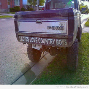 country ford truck Quotes