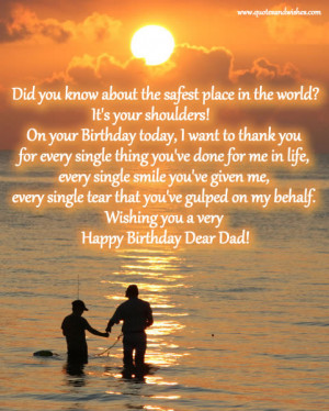 BIRTHDAY QUOTES FOR DAD