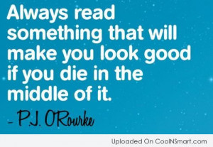 Book Quotes And Sayings Book quote: always read