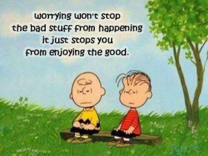 Charlie Brown....worry wart