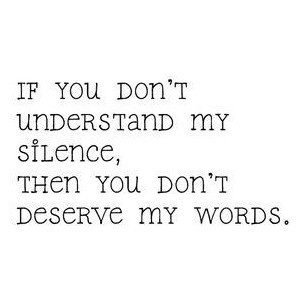 quote, silence, text, truth