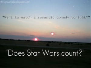 Star Wars funny quote | Sometimes you gotta be goofy
