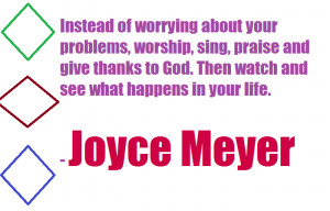 Joyce Meyer Quotes Relationships...