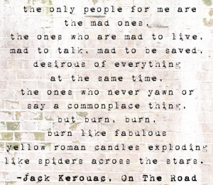 Quotes About People With Blue Eyes Kerouac quote (from what lies