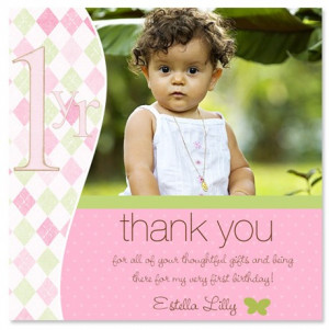 1st Birthday Thank You Sayings http://www.lilsweetprince.com/thank-you ...