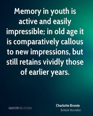 Charlotte Bronte Age Quotes