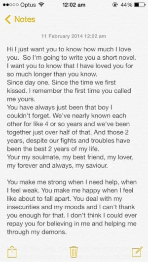 Long Paragraph to Your Best Friend