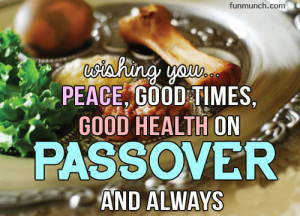 Wishing you good health on passover