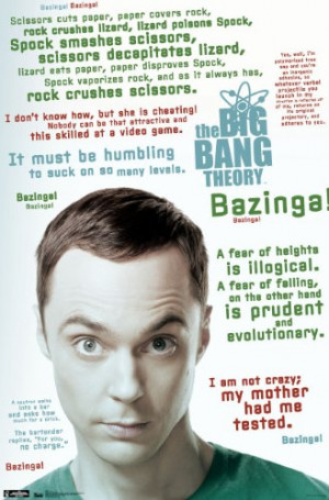 Trends International Unframed Poster Prints, Big Bang Theory Quotes