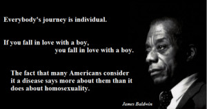LGBTQ* Quotes and QuipsAuthors You Should Know - James Baldwin