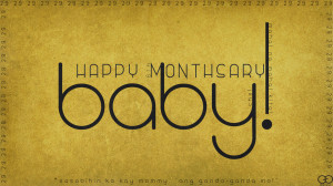 Happy 6th Monthsary Baby! by darkchronix95