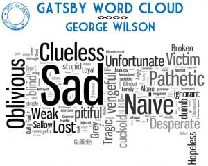 Gatsby Word Cloud: George Wilson