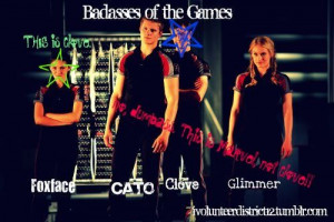 Search hunger games careers cato glimmer clove marvel repost real ...