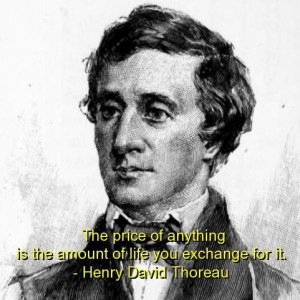 Henry david thoreau best quotes sayings wise life witty