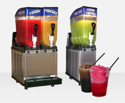 Hire of double bowl Frozen Frenzies drink machine (holds 24 litres)
