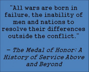 Medal of Honor Image Quotes of the Book