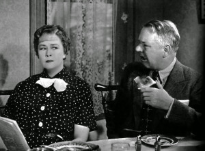 Harold Bissonette—playedby W.C. Fields--has ripped a pillow ...