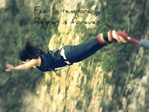 bungee jumping ! ..