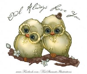 Cute Owl Sketch Will