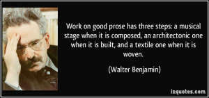 More Walter Benjamin Quotes