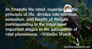Wilhelm Wundt Quotes Pictures