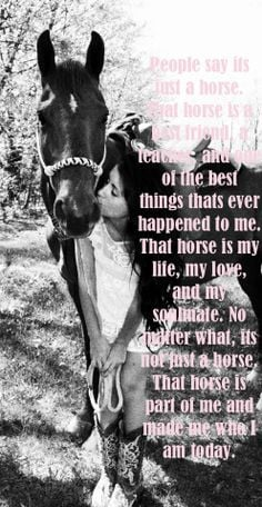 Barrel racing is my life