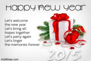 Happy New Year 2015 Wishes Messages Quotes – 2 of 2