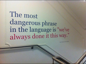 "Fighting ""We've Always Done It This Way"" in Workplaces ..."