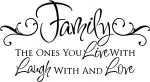 Family Wall Quotes | Vinyl Wall Decals