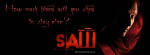 Horror Scary movie Saw Quote