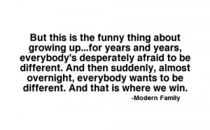 modern family #modern family quote #mitchell pitchett quote #being ...