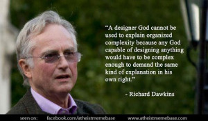 ... the same kind of explanation in his own right.' - Richard Dawkins