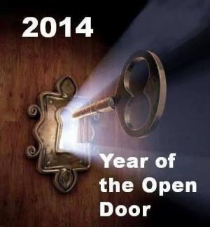 2014 Year Of The Open Door