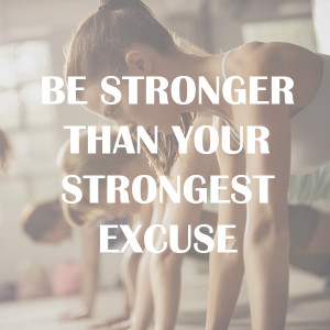 No one else can get you down to the gym or the running around that ...