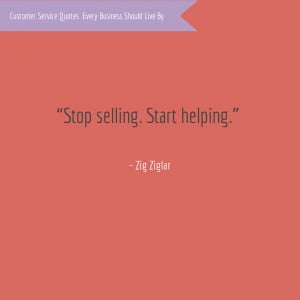 Customer Service Quotes Zig Ziglar