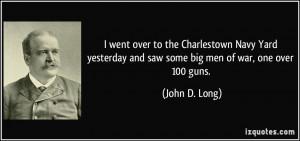 ... big men of war one over 100 guns john d long 114340 The Yard Quotes