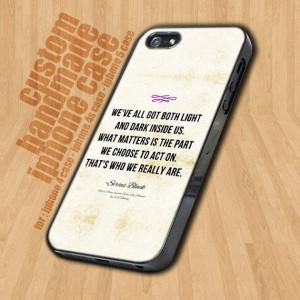 ... Alice in Wonderland Quote iPhone 4s 3GS iPod. $45.00, via Etsy. #