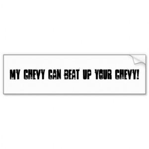 Chevy Sayings Good