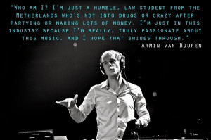 And That's Why He's Armin van Buuren, The Number 1 DJ…