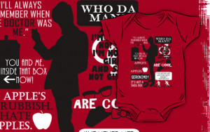 Fantality › Portfolio › Doctor Who - 11th Doctor Quotes