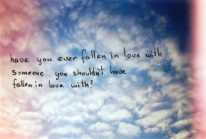 Fall in Love Quotes in images - drawing