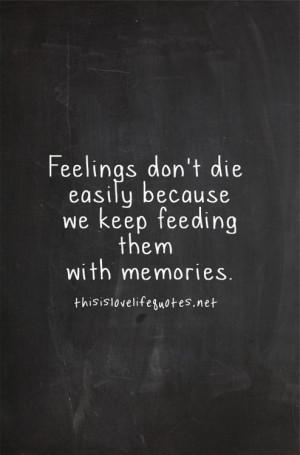 hmm.. ~ #feelings #memories #quote