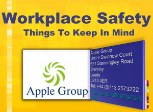 Top 10 Workplace safety Tips - applegroup.uk.com